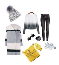 """""""My gray"""" by iayung on Polyvore featuring мода, NIKE, H&M, Relic, Vince, Boum, women's clothing, women, female и woman"""