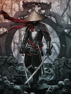 A ronin was a samurai with no lord or master during the feudal period of Japan. A samurai became master-less from the death or fall of his master, or. Samurai Tattoo, Ronin Tattoo, Demon Tattoo, Tattoo Art, Shogun Tattoo, Warrior Tattoos, Yakuza Tattoo, Character Concept, Character Art