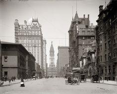 Philadelphia, PA., Broad Street