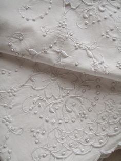 . . . Cabin & Cottage : Just Linen. Pretty linens are essential to my home
