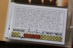 """Love the """"around here"""" niebuhrchicks: December Daily Day 12 & 13"""