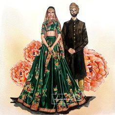 Wedding Dress Sketches, Dress Design Sketches, Fashion Design Sketchbook, Fashion Design Drawings, Fashion Sketches, Fashion Illustration Collage, Dress Illustration, Wedding Illustration, Fashion Illustration Dresses