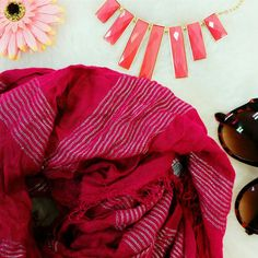 Pink Scarf | American Eagle