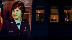 A photographer used a projector to cast images onto homes of families who lost veterans to coronavirus, all from the Holyoke Soldiers Home in Massachusetts. Cast Images, Cnn News, Vietnam Veterans, Sports News, Memorial Day, Donald Trump, Presidents, It Cast, Memories