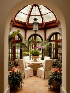 Harrison Design Associates love the windows and ceiling