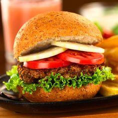 Hambúrguer de Carne Caseiro