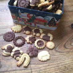 Sablés réalisés à la presse à biscuits #cuisine #food #homemade #faitmaison #recette