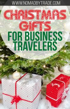 The best Christmas gifts for business travelers are included in this detailed list of carry-on, suitcase, clothing, and other ideas from a veteran business traveler. #ChristmasList | #ChristmasGifts | #BusinessTravel | Holiday gift ideas | Holiday gifts for business travelers | Christmas gifts for young professionals