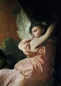 "Jean-Auguste-Dominique Ingres  Angel from ""The Vow of Louis XIII"" (1824)"