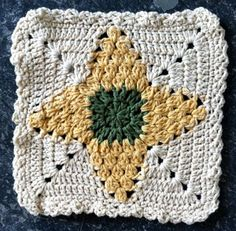 #135 Pineapple Cluster Crochet Dishcloth – Maggie Weldon Maggies Crochet