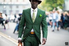 Milan Fashion Week Spring/Summer 2013 - Street Style #mensWear #menstyle #man