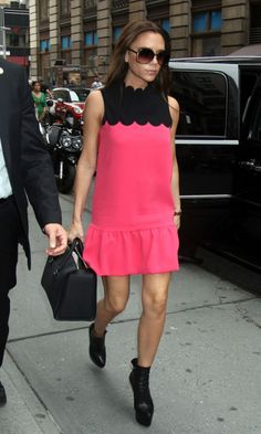 Victoria Beckham Went Shopping In Prada In New York For Fashion Week, September 2011