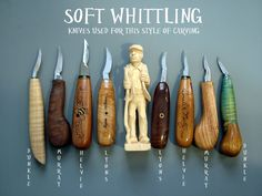 Soft Whittling Tutorial from Woodbee Carver