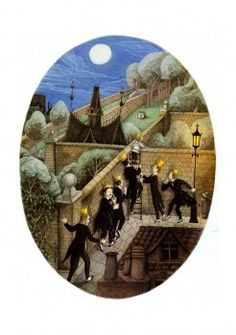 A School Bewitched written by Naomi Lewis from a story by E. Nesbit, 1985 ,illustrated by Errol Le Cain'