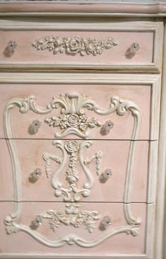 May 2020 - Painted Cottage Chic Shabby Romantic French Dresser / Chest Shabby Chic Bedrooms, Shabby Chic Homes, Shabby Chic Furniture, Painted Furniture, French Furniture, Bedroom Furniture, Rustic Furniture, Modern Furniture, Shabby Chic Dressers