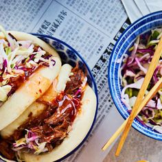 Hot Dog Buns, Hot Dogs, Bao Buns, Coleslaw, Bread, Food, Coleslaw Salad, Brot, Essen