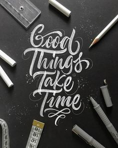 34 Remarkable Handmade Lettering and Typography Designs Brush Lettering Quotes, Chalk Lettering, Hand Lettering Alphabet, Typography Letters, Creative Lettering, Lettering Styles, Typography Quotes, Lettering Design, Typography Poster