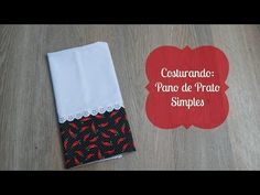Quem já sabe como fazer pano de prato para vender e conhece esse mercado, entende que este… Dish Towels, Drink Sleeves, Projects To Try, Patches, Quilts, Sewing, Puff, Youtube, Dish Towel Crafts