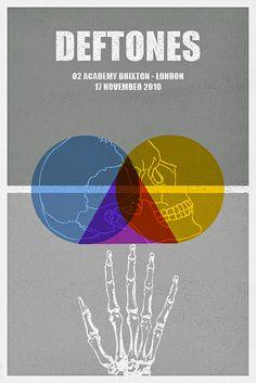Deftones Poster by Vespertin, via Flickr