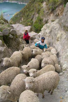Ecuador photos pictures andes Quilotoa Lake, Zumbahua, Chugchilan andes photos Ecuador