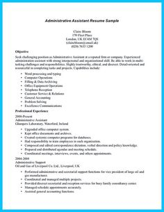 entry level office assistant resume