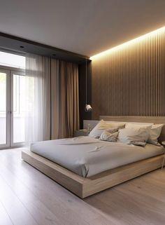 Modern Minimalist Bedroom, Modern Master Bedroom, Minimalist Furniture, Master Bedroom Design, Minimalist Kitchen, Trendy Bedroom, Minimalist Interior, Minimalist Decor, Bedroom Black