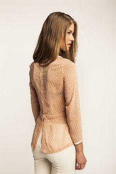 Named Patterns, Kanerva Button Back Shirt & Peplum Blouse - Printed Pattern