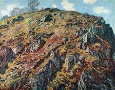 Study of Rocks 1889 Claude Monet
