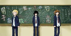 Danshi Koukousei no Nichijou ~~ Chalkboard