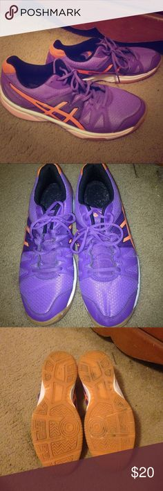 Clemson ASICS ASICS in Clemson Tiger colors. Even the bottoms are orange! These have only been worn a few times. The soles are gel. These shoes are perfect for the upcoming football season! ***Bundle and Save!!!*** Asics Shoes Sneakers