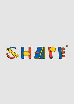 Shape ©. Typeface design by Peter Judson on Typography Served