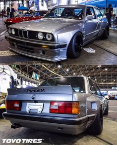 BMW E30 box arch kit