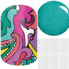 Pickled paisley and delight layered over teal laquer