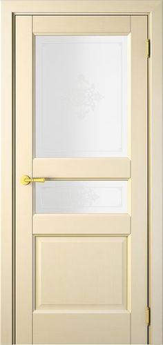 Sarto Interio NS 1232 Interior Door Damascus Glass Creamy Ash