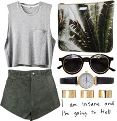 I'm insane by luxe-ocean ? liked on Polyvore