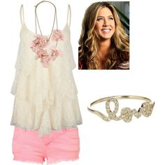 Cute light pink and white outfit
