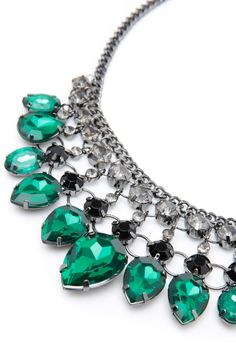 Design Studio - Facet Beads Short Statement Necklace