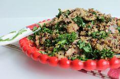 Quinoa com cogumelos 9