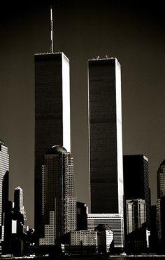 World Trade Center seen from Jersey City