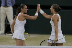 Errani and Vinci Complete Career Grand Slam with Wimbledon Title