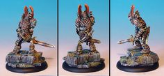 James Wappel Miniature Painting: Ilyad Skeleton Character