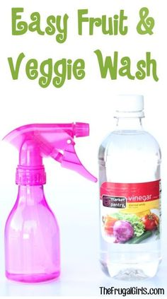 Fruit and Veggie Wash Tip! ~ from TheFrugalGirls.com - the secret trick to getting your produce clean! #tips #thefrugalgirls: Fruit and Veggie Wash Tip! ~ from TheFrugalGirls.com - the secret trick to getting your produce clean! #tips #thefrugalgirls