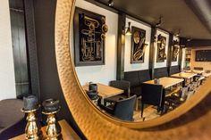 JazzClub#Kosice#pub#restaurant#InteriorDesign#InteriorDesignByOdette Jazz Club, Restaurant, Interior Design, Mirror, Furniture, Home Decor, Nest Design, Decoration Home, Home Interior Design