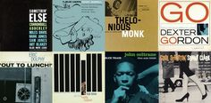 Reid Miles was an American graphic designer who, in 1955, was hired to design album covers for legendary jazz record label BLUE NOTE. MILES was paid $50 a cover and having little interest in jazz, designed solely on the session descriptions given to him by producer ALFRED LION.