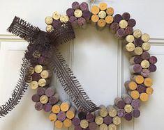 Cork Flower Wreath