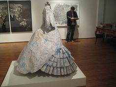 Meredith McNeal, cartography dress