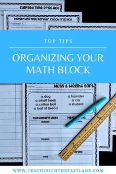 Organizing your math block can feel like an uphill battle, but it doesn't have to. Just implement the essential 5 elements in every math block for success! Classroom Routines And Procedures, Classroom Management Strategies, 3rd Grade Classroom, 5th Grade Math, Math Lesson Plans, Math Lessons, Teacher Blogs, Best Teacher, Math Blocks