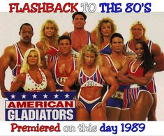 Classic Game Shows You Wish You Could Play: American Gladiators Spice Girls, Britney Spears, American Gladiators, Make Up Anleitung, American Games, To Kill A Mockingbird, Could Play, Reality Tv, Favorite Tv Shows