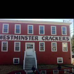 Who knew the demand for crackers was so high in Westminster