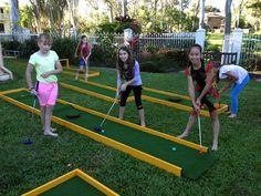 Mobile Mini Golf Nort Queensland | Mini Golf Townsville | Mobile Mini Golf